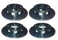 Escort and Fiesta 'Ultralight' Brake Discs - Full Set
